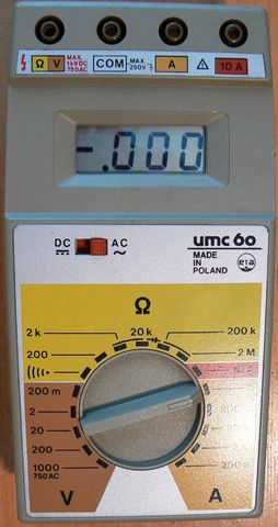 Multimeter UMC 60