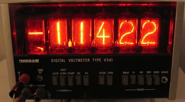DIGITAL VOLTMETER V541