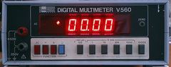 DIGITAL MULTIMETER V560
