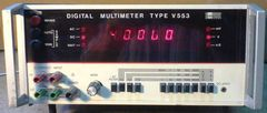 DIGITAL MULTIMETER V553